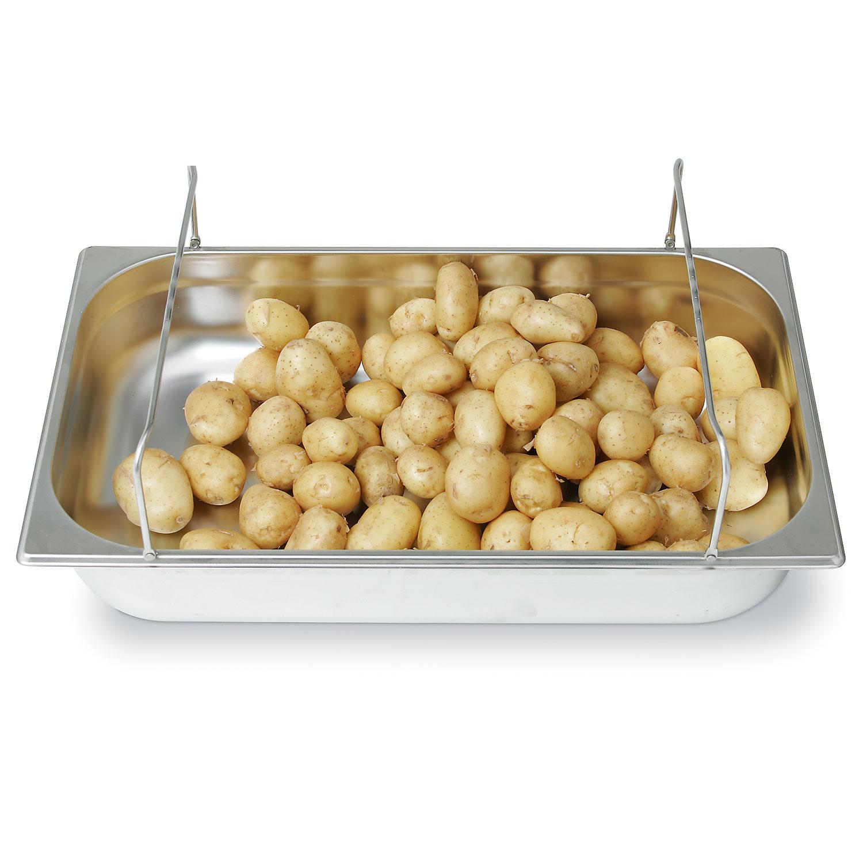Metos GN-astia, jossa perunoita