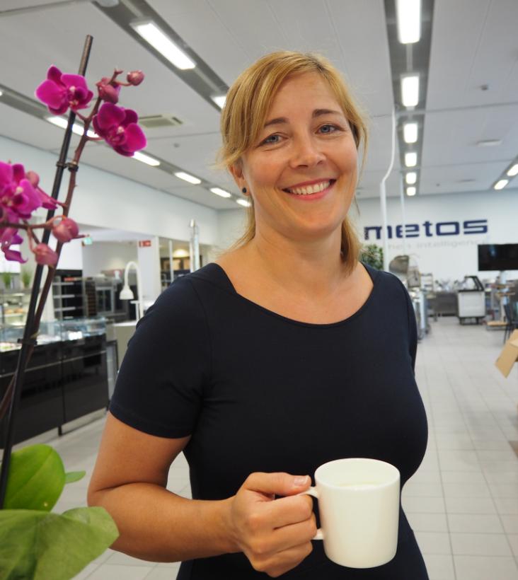 Pia Lindén, tuotepäällikkö, Metos