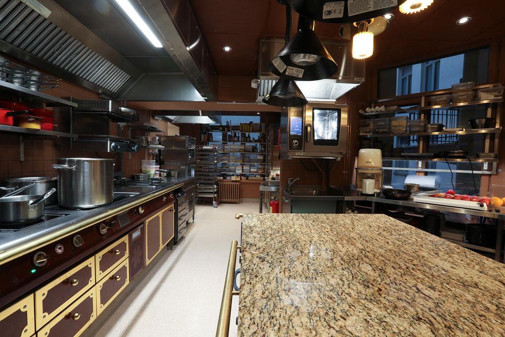 Ravintola Bardot Helsinki, kuva keittiöstä