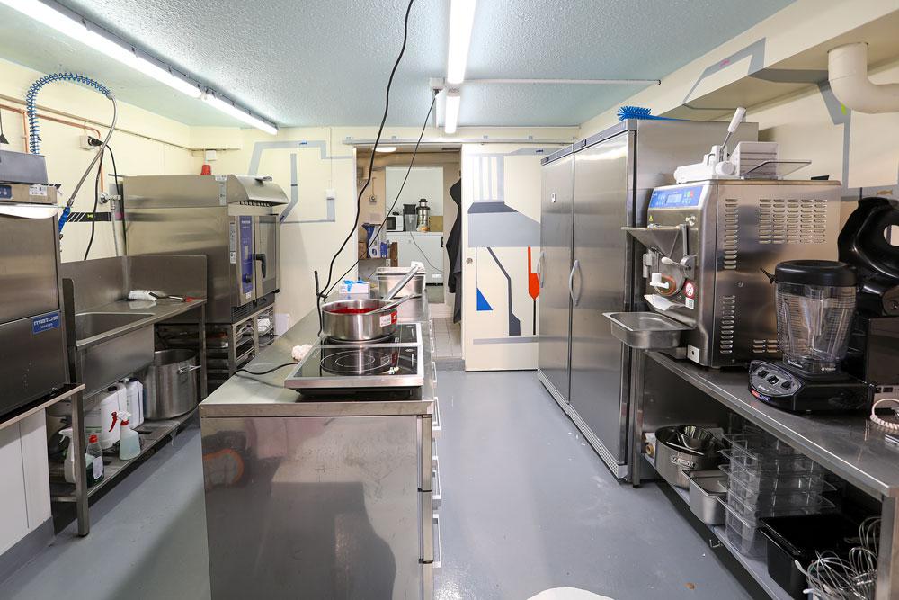 Kauppamäen Karamellin Metos-keittiö