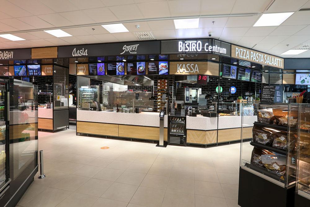 Bistro Centrum Turun ydinkeskustassa