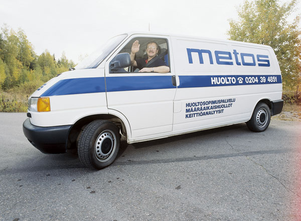 Metos huoltoauto 1999