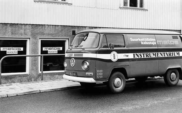 Metos-huoltoauto kleinbus